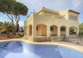 Reduced in price villa with guest apartment in La Nucia